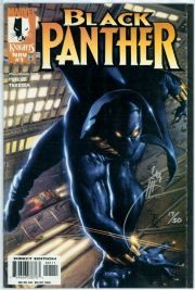 Black Panther #1 First Print (1998) Dynamic Forces Signed Joe Quesada DF COA Ltd 50 Marvel comic book